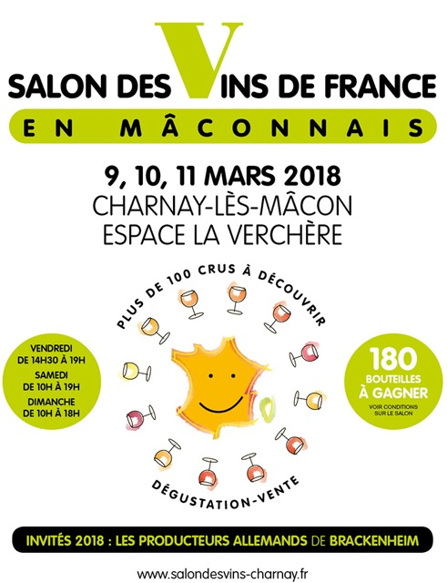 SALON VINS FRANCE 2018 CHARNAY