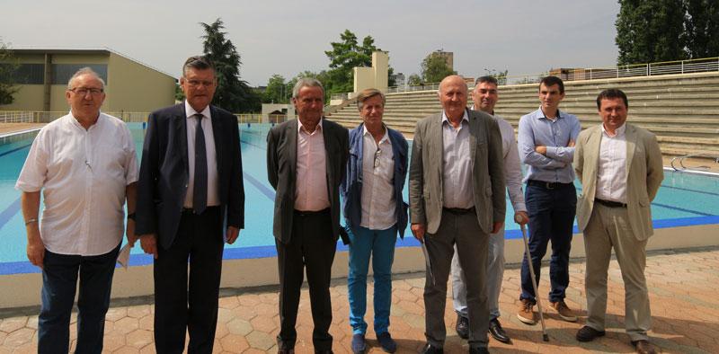 M con infos le web journal du m connais m con le for Chauffage piscine olympique